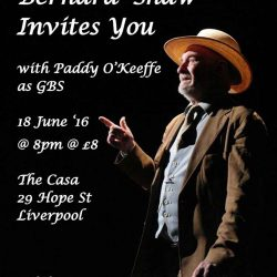 Irish Theatre presents 'An Evening with George Bernard Shaw'