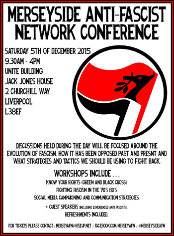 Anti-Fascist Conference and Fundraiser