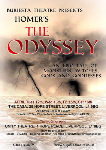 Burjesta Theatre presents 'The Odyssey'