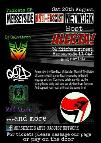 ALERTA! Anti-Fascist Benefit Gig