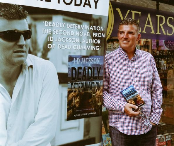 Talk with Liverpool Crime Writer Ian D Jackson at Write Blend Bookshop