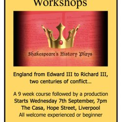 Burjesta Theatre Workshops - Shakespeare's History Plays