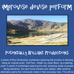 12 Week Acting Course - Improvise-Devise-Perform