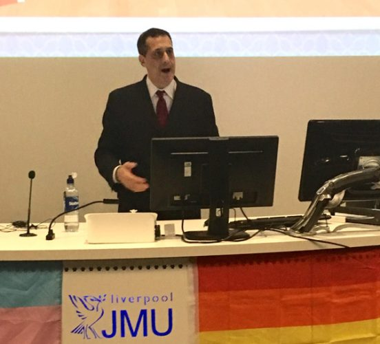 Nephew of gay rights icon Harvey Milk tells Liverpool audience: we must fight far right to protect LGBT people