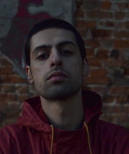 Iranian rapper Farhood Jafari