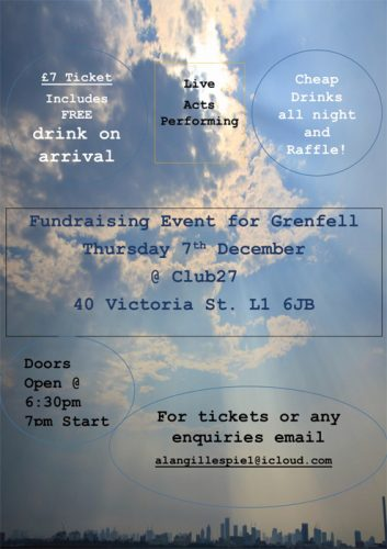 Fundraising Event for Grenfell