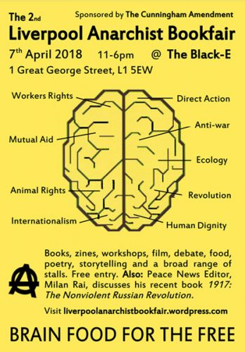 Liverpool Anarchist Bookfair 2018