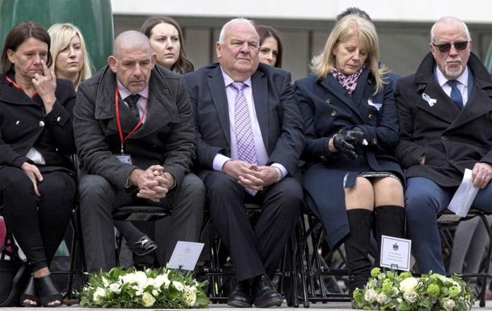 25th anniversary of IRA bombing in Warrington