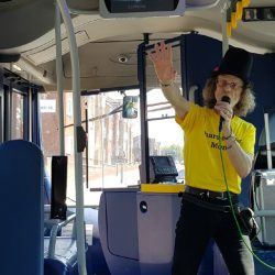 National Share-A-Story Month on the buses