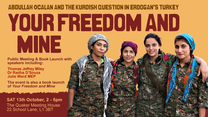 Your Freedom and Mine: Abdullah Öcalan and the Kurdish Question in Turkey