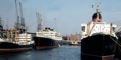 The Port Of Liverpool In The 1960's & 1970's
