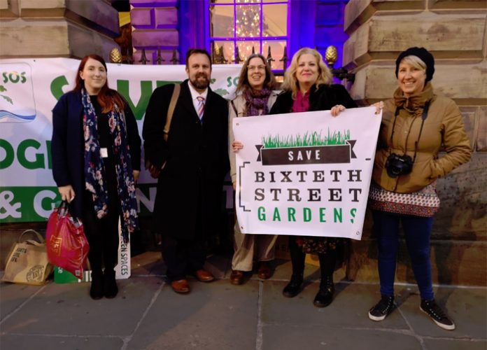 Save Bixteth Gardens