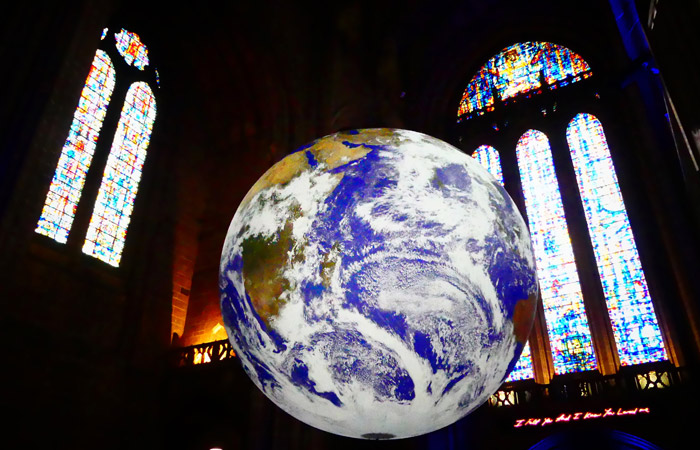 Gaia at Liverpool Anglican Cathedral