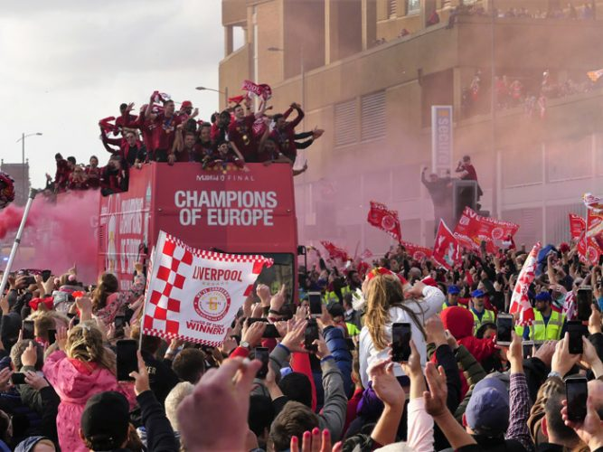 Liverpool Football Club Homecoming