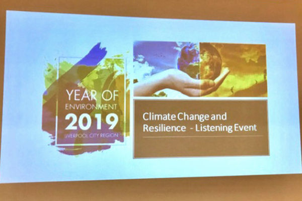 The Climate Change and Resilience – Listening Event