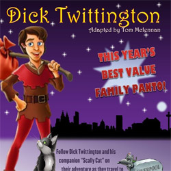 Dick Twittington at Valley Theatre this Christmas