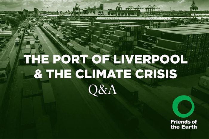 Future of Port of Liverpool in the face of climate crisis Q&A