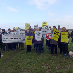 Demonstration to Save Rimrose Valley