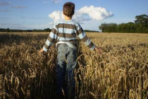 One Boy Stood in the Field