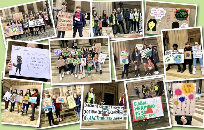 School strikers must be seen and heard