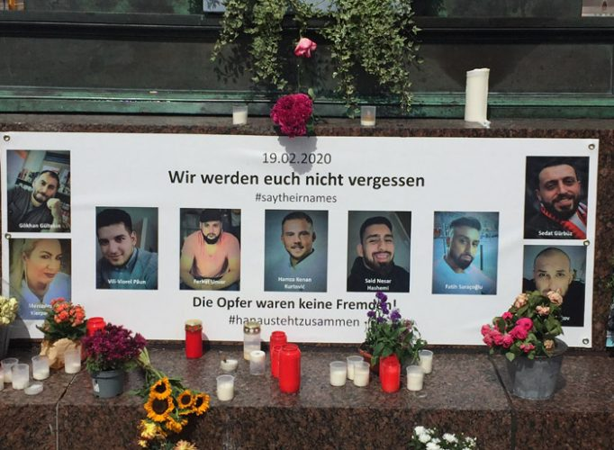 SayTheirNames: Standing up to Racist Violence after the Hanau Shootings in February 2020
