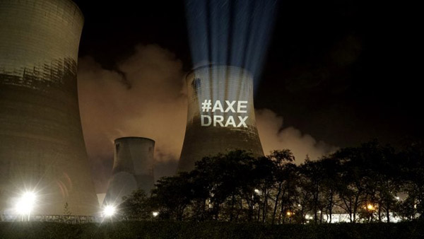 Forests Are Not Fuel: Axe Drax